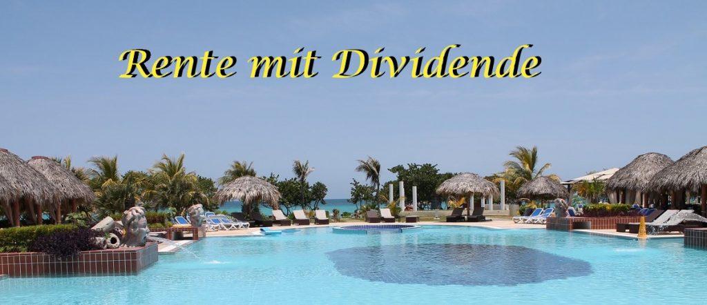 Rente mit Dividende