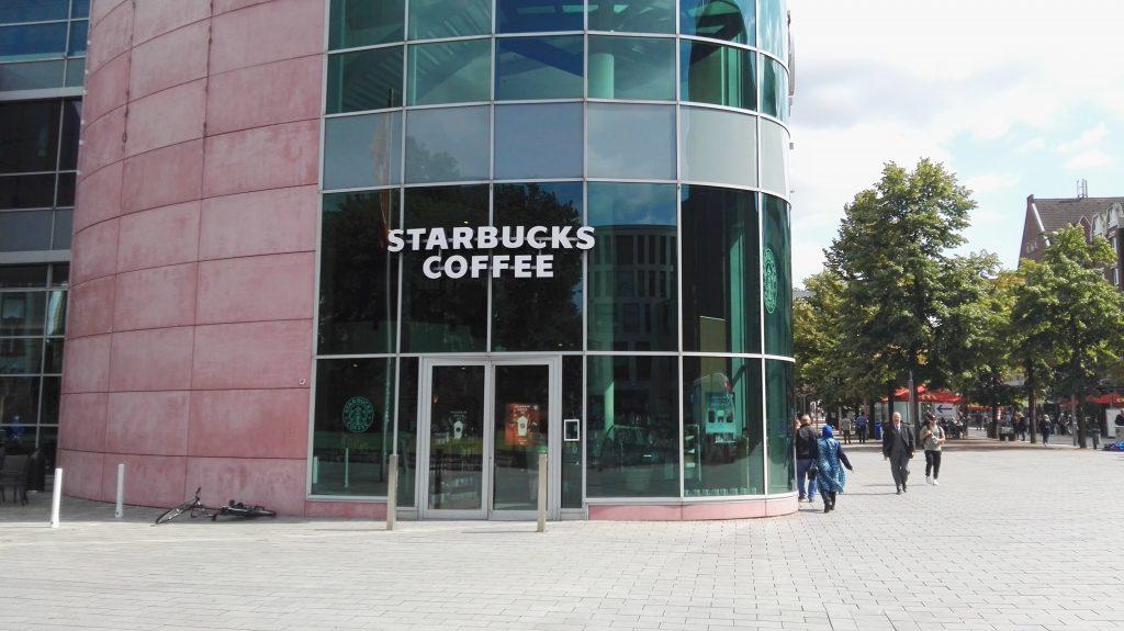Starbucksfiliale in Deutschland